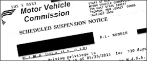 suspension letter nj mvc