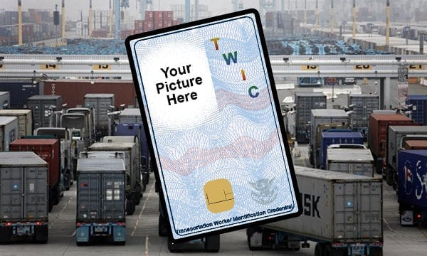TWIC waiver application